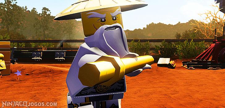 LEGO Sensei Wu